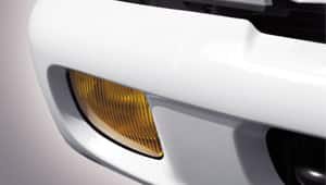 image of focused on fog lamps