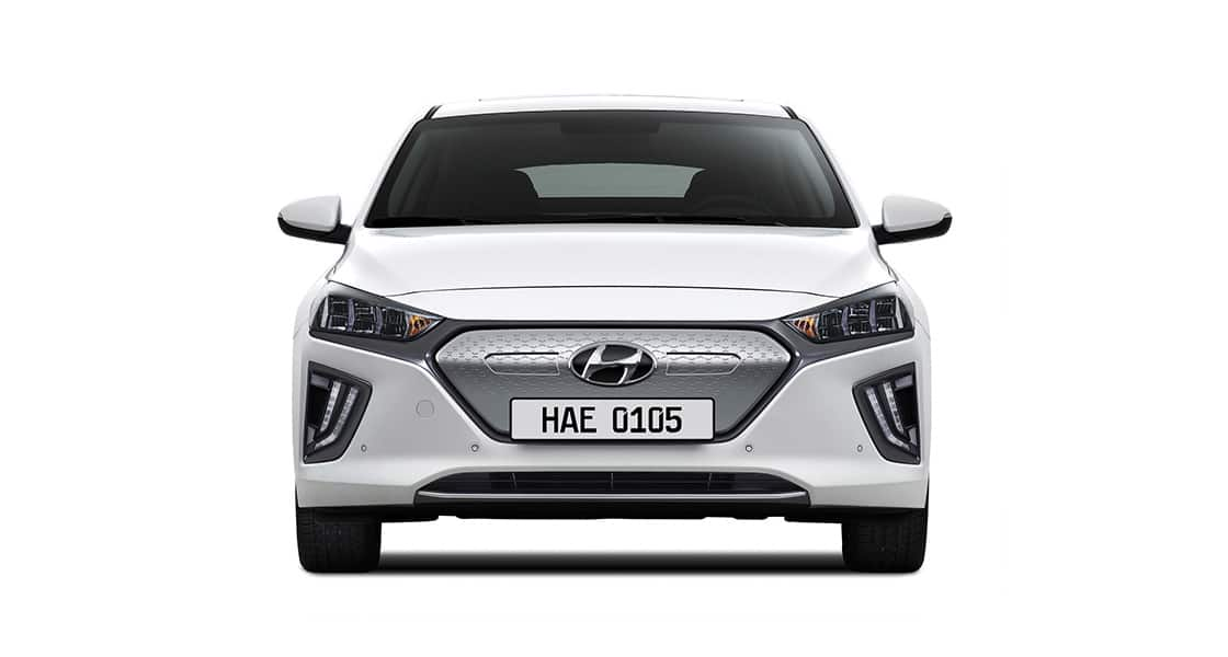 IONIQ electric front view