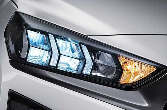 IONIQ electric led headlamps