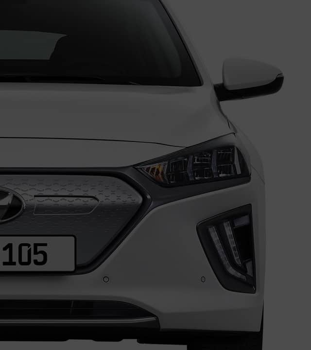 IONIQ electric exterior front design