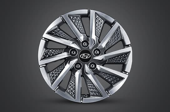 "IONIQ electric 16"" alloy wheels"