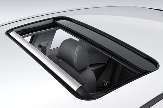 IONIQ electric power sunroof