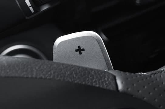 IONIQ plug-in hybrid paddle shifters