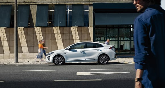 IONIQ plug-in hybrid experience the future of mobility in your daily life.
