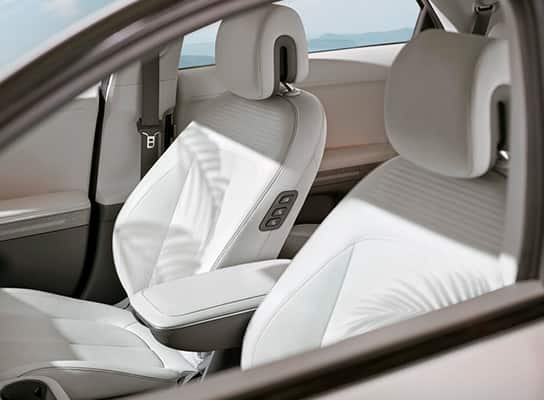 eco processed leather seats