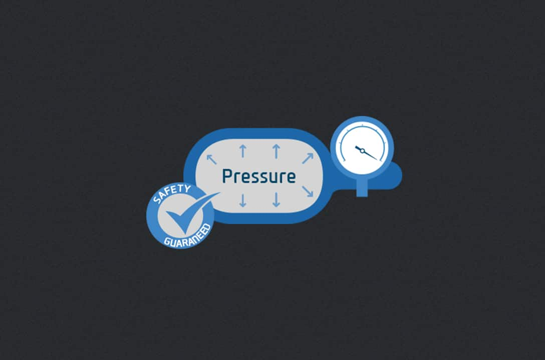 Icons telling about atmospheric pressure