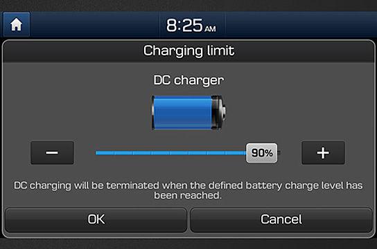 charging limit