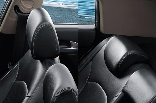 Adjustable front and Rear Headrest
