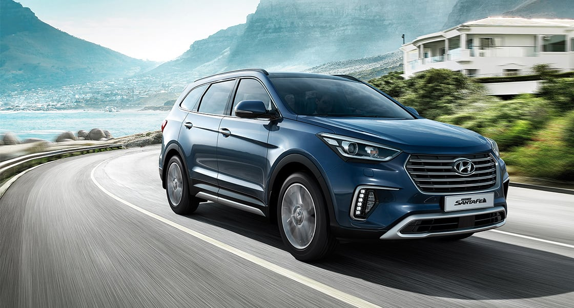 grand santa fe highlights | suv - hyundai worldwide