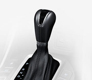 Closer view of 6-speed automatic transmission