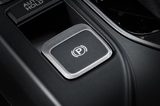 Electric parking brake button