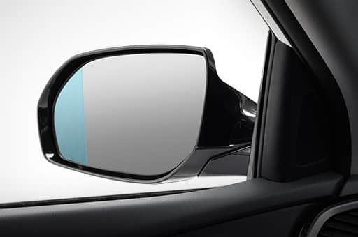 Wide-view mirror