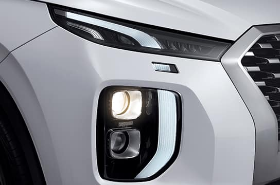 Palisade Projection headlamps