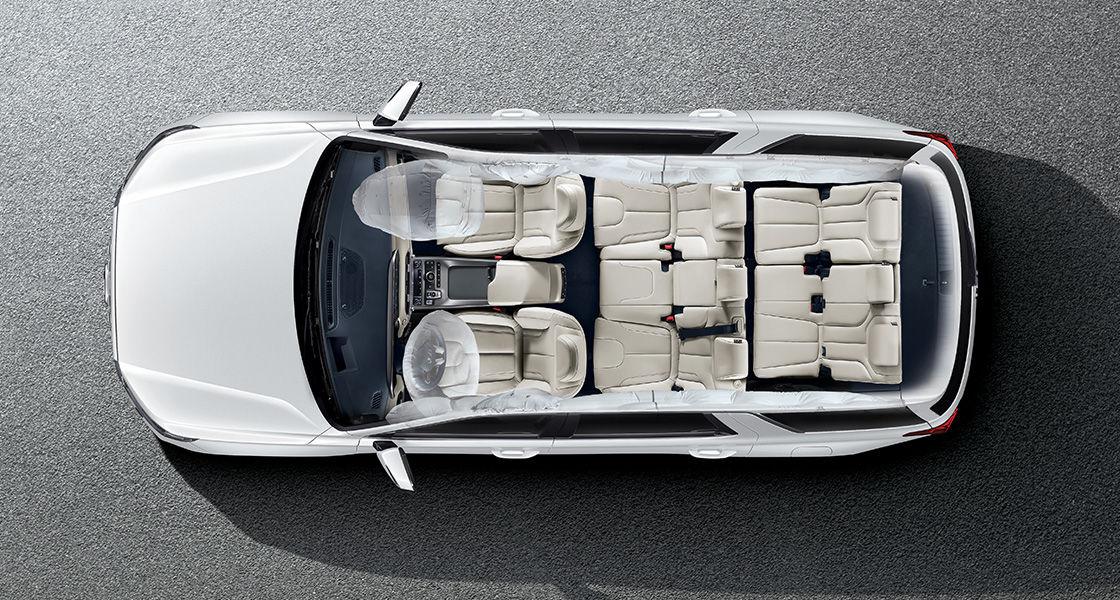 Palisade 6-airbag system