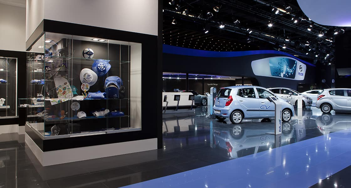 motorshow frankfurt 2011 parts in showcase