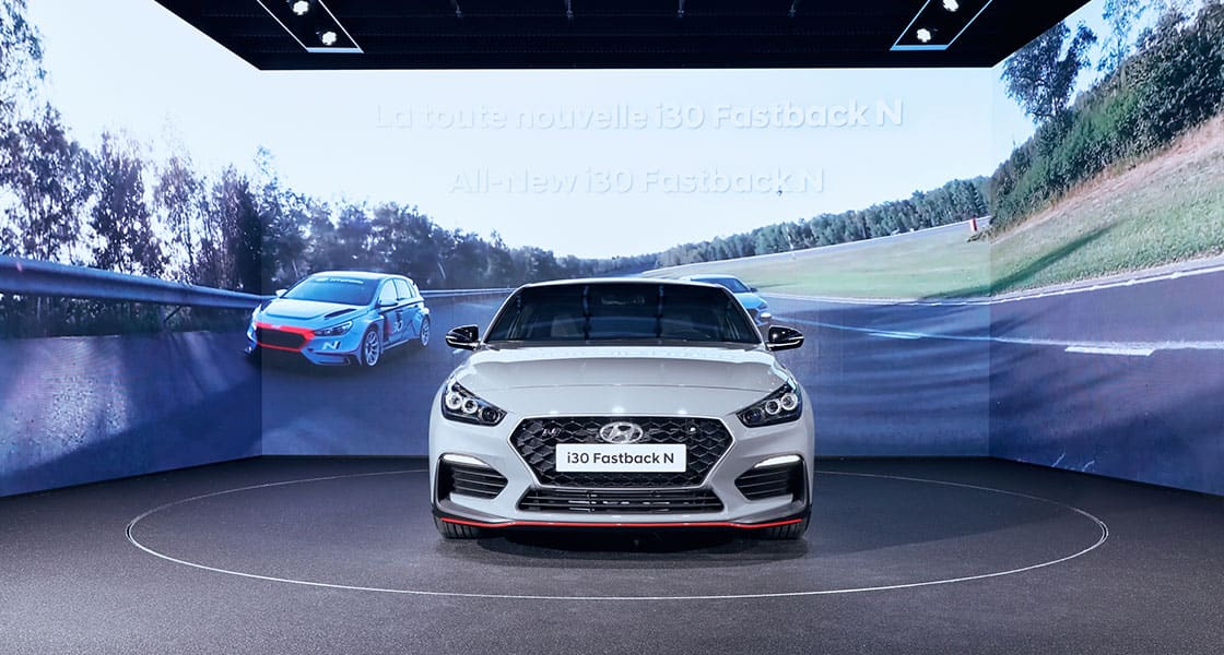 2018 paris motorshow high performance