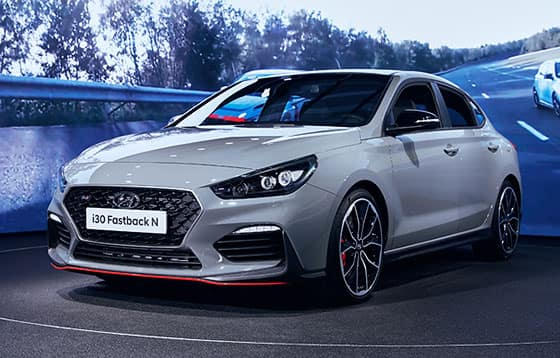 High-performance model  i30 Fastback N