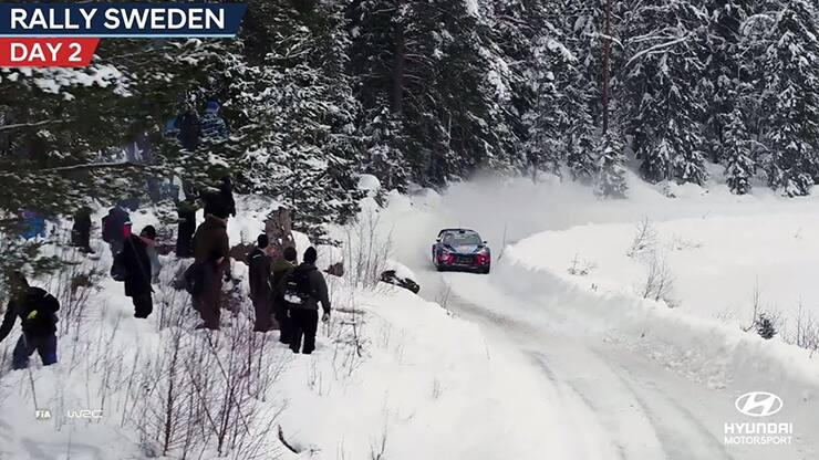 Rally Sweden Day Two