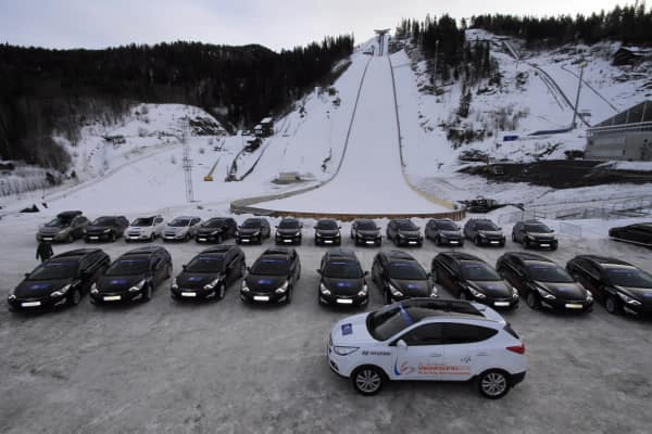 Ski Flying WC VIK Hyundai Provides Vehicles For Ski Flying Championships3