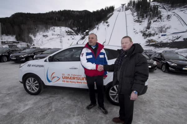Ski Flying WC VIK Hyundai Provides Vehicles For Ski Flying Championships6