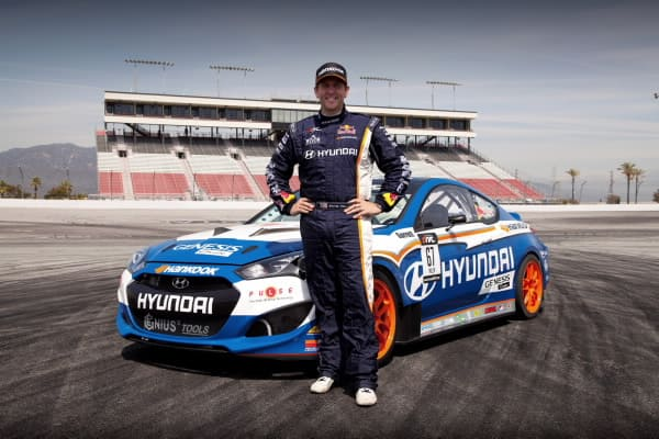 HMA HYUNDAI GENESIS COUPE AND RHYS MILLEN RACING PARTNER TO COMPETE IN 2012 FORMULA DRIFT SERIES1