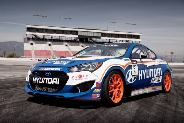 HMA HYUNDAI GENESIS COUPE AND RHYS MILLEN RACING PARTNER TO COMPETE IN 2012 FORMULA DRIFT SERIES2