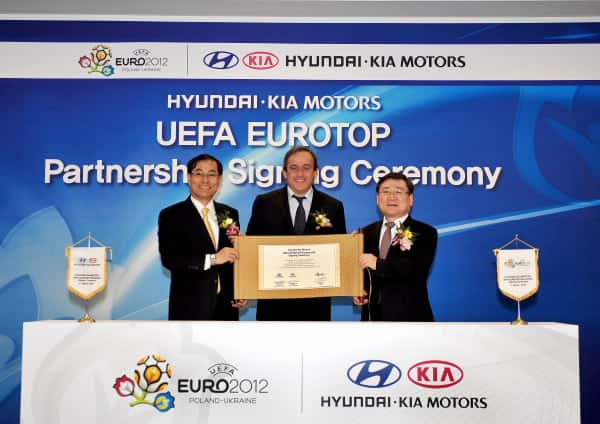 UEFA Hyundai to extend sponsorship for UEFA