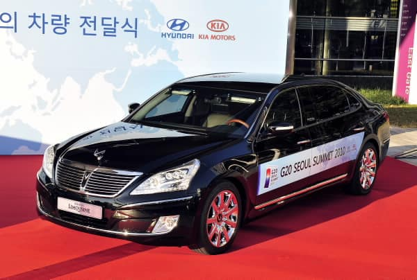 Hyundai Hands Over Official Vehicle for G20-2