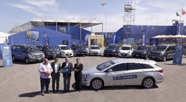 Hyundai Provides Vehicles To Organizing Committee Of 2011 FIFA Beach Soccer World Cup1