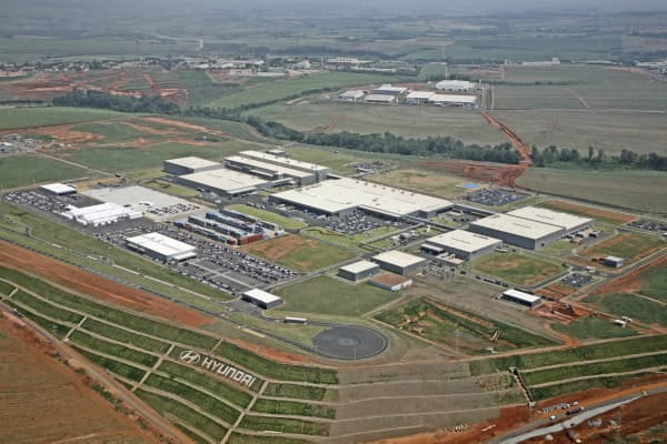Hyundai's New Plant in Piracicaba photo 1