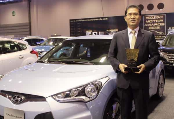 Hyundai Veloster named Best Hatchback at prestigious