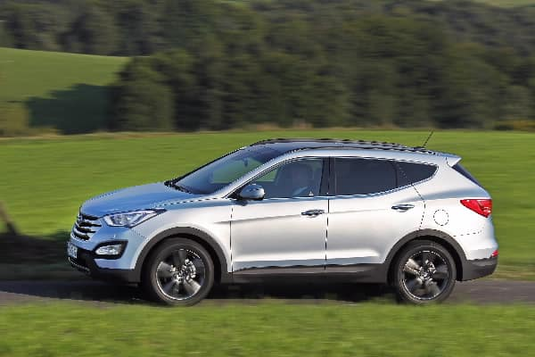 New Generation Santa Fe named the safest in its class of 2012