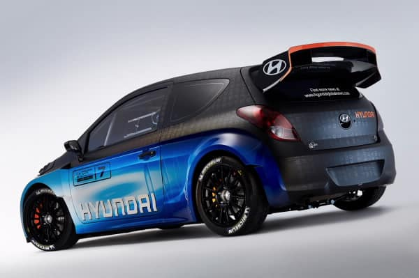 Upgraded i20 WRC 3