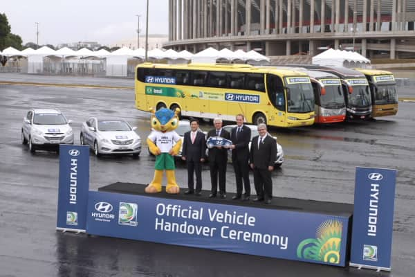 Hyundai Motor Offers Ground Transportation For FIFA Confederations Cup Brazil 2013TM