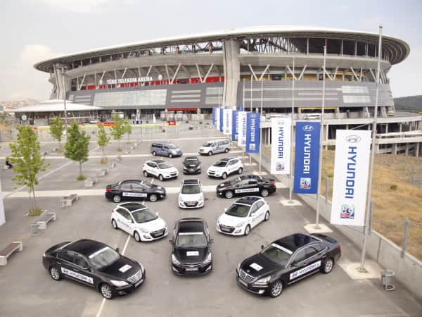 Hyundai Motor Supplies Official Fleet of 112 Vehicles To FIFA U-20 World Cup Turkey 2013™