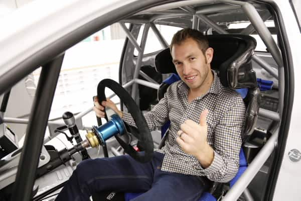 Chris Atkinson visits Hyundai Motorsport ahead of his maiden test with the team 3