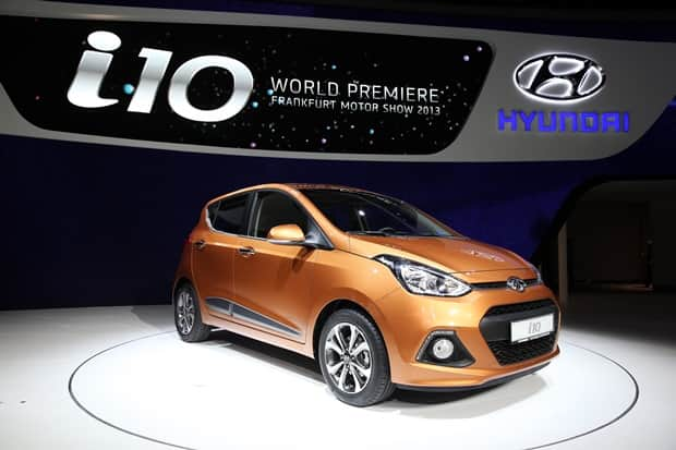 New Generation i10 at the 2013 Frankfurt Motor Show 4