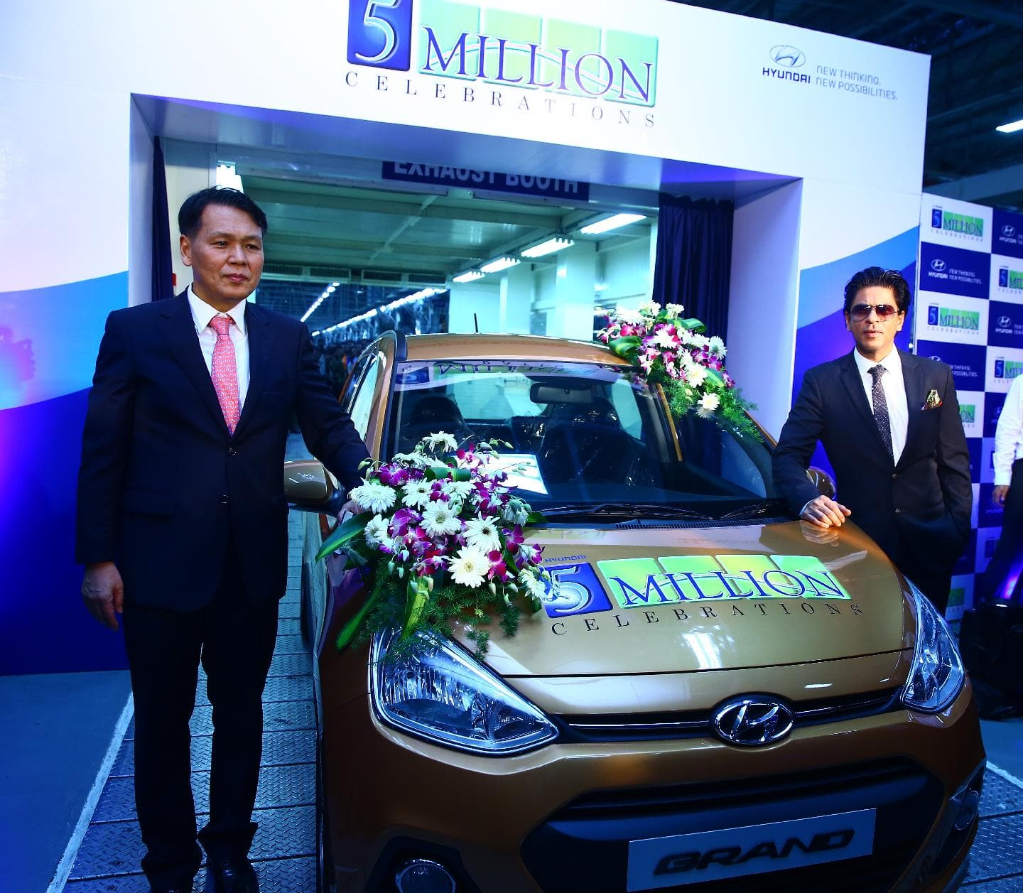 Hyundai Motor India Rolls Out 5 Millionth Car