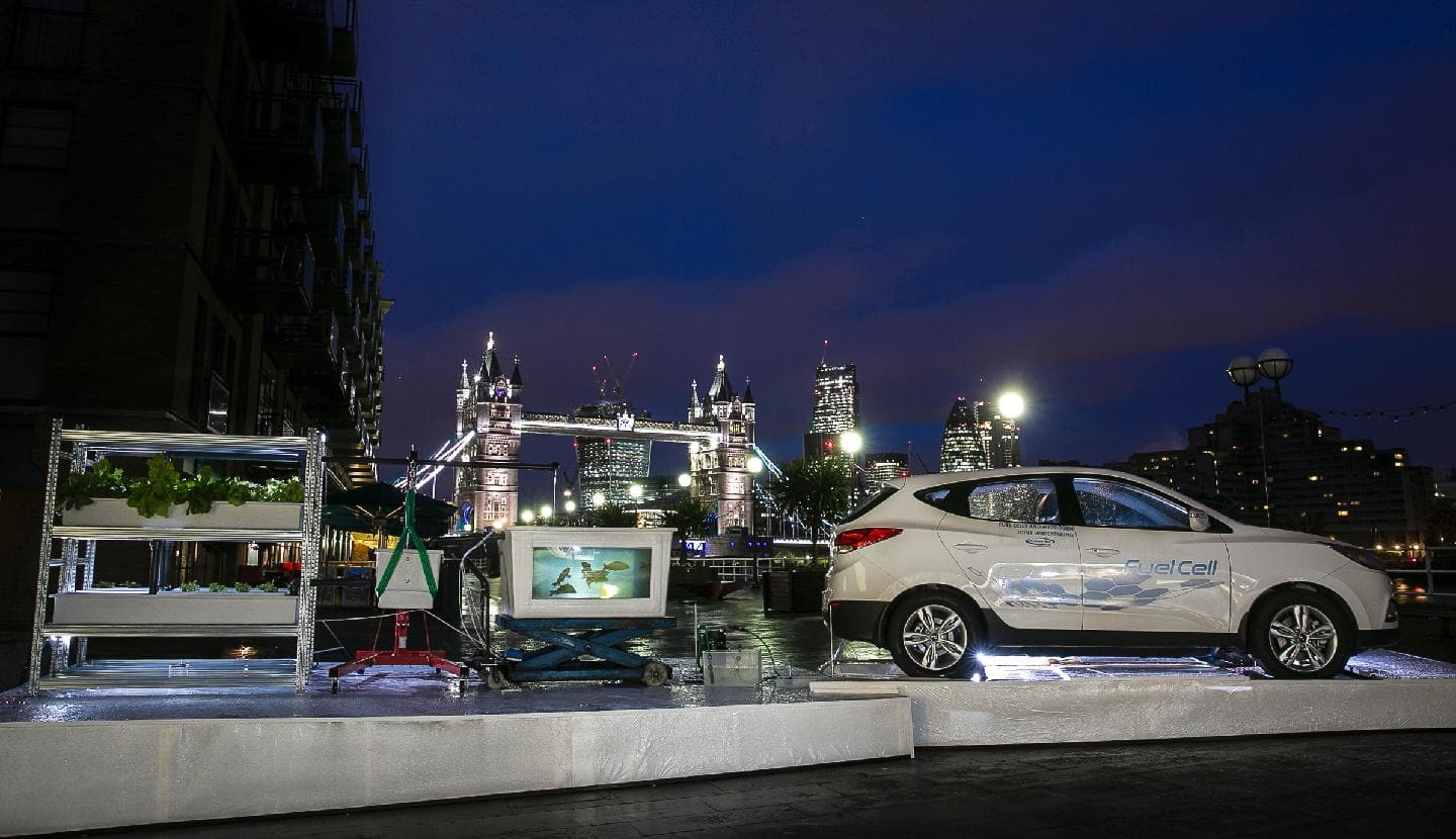Hyundai Uses ix35 Fuel Cell To Grow Food