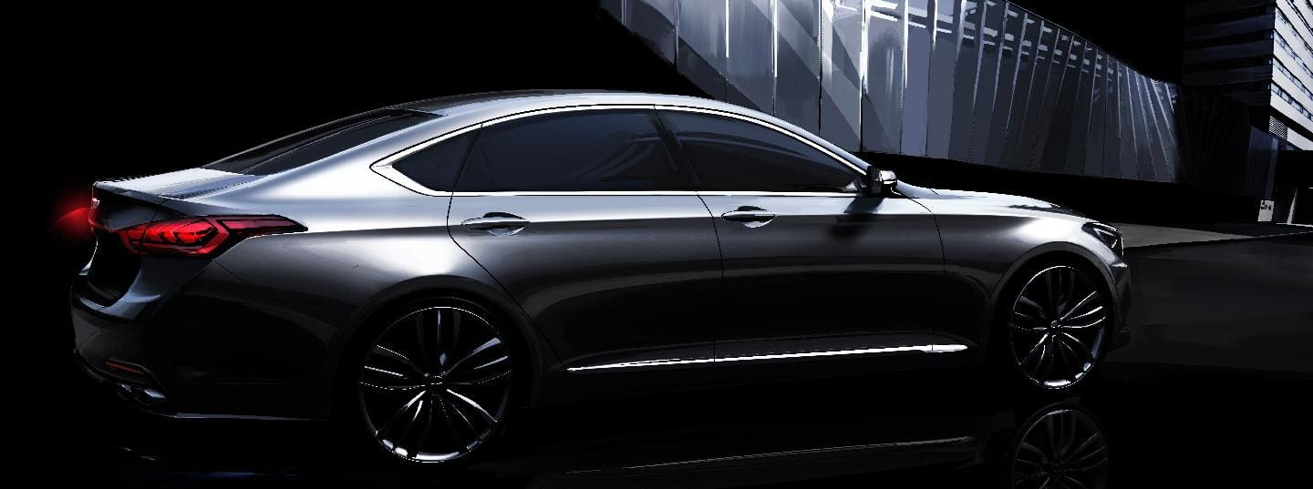 Hyundai Motor Previews All-new Genesis