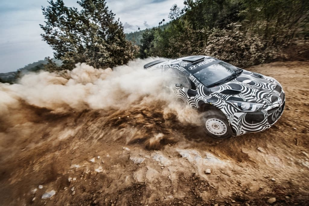 i20 WRC Tests On Gravel, Tarmac in October