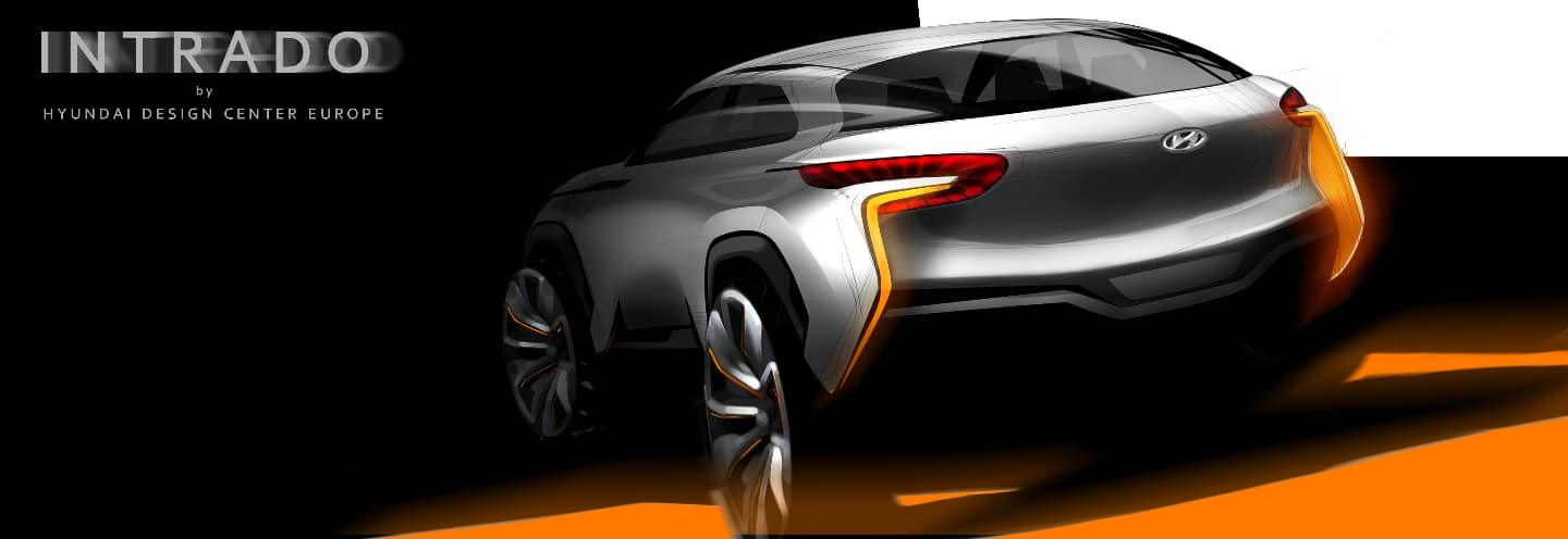 Intrado(HED-9) Concept to Demonstrate Hyundai Motor Commitment to Innovation