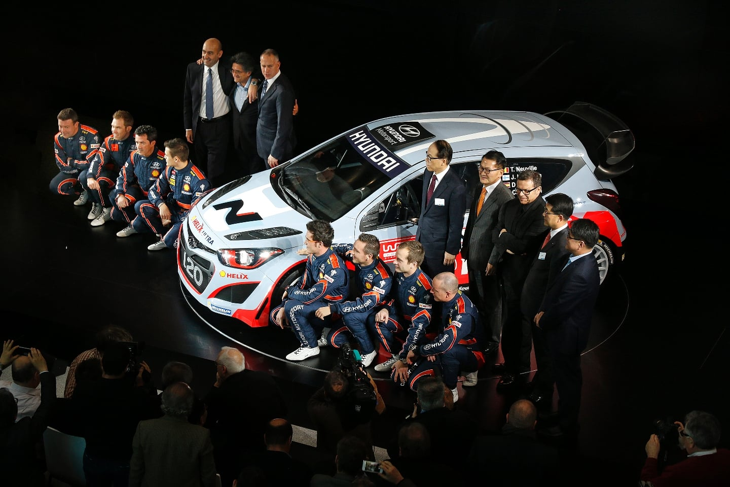 Hyundai Motorsport Ready to Rally as it Launches 2014 Line-Up