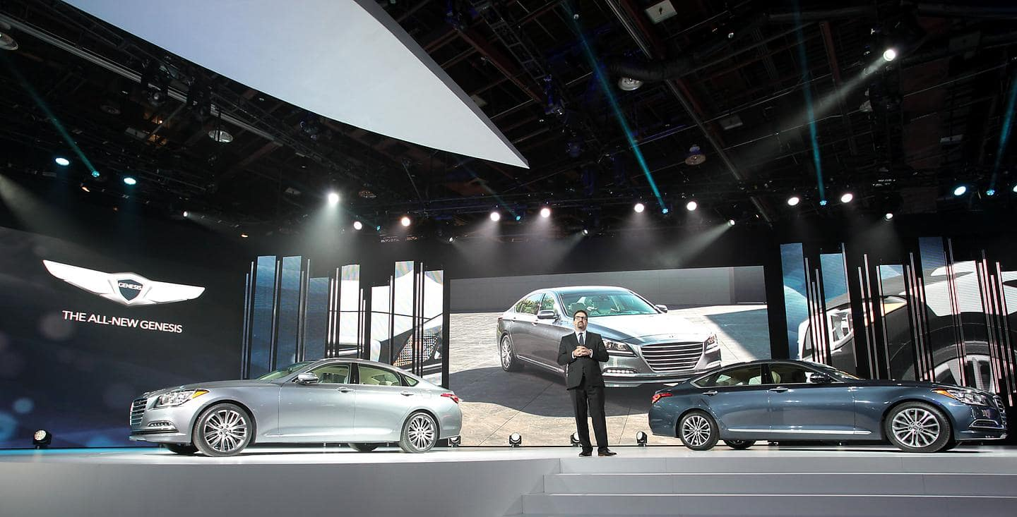 Hyundai Press Conference at the 2014 North American International Auto Show photo 2