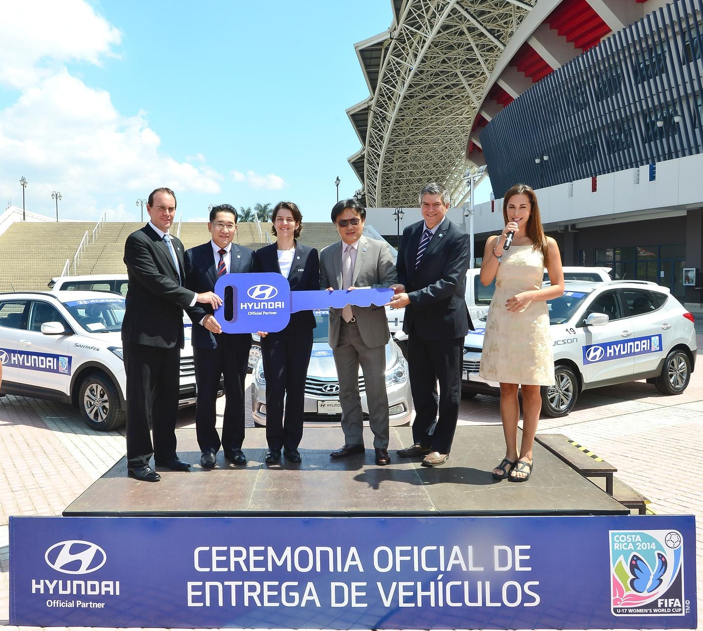 Hyundai Motor Gives Over 50 Cars to FIFA for Transportation FIFA U-17 Women's World Cup