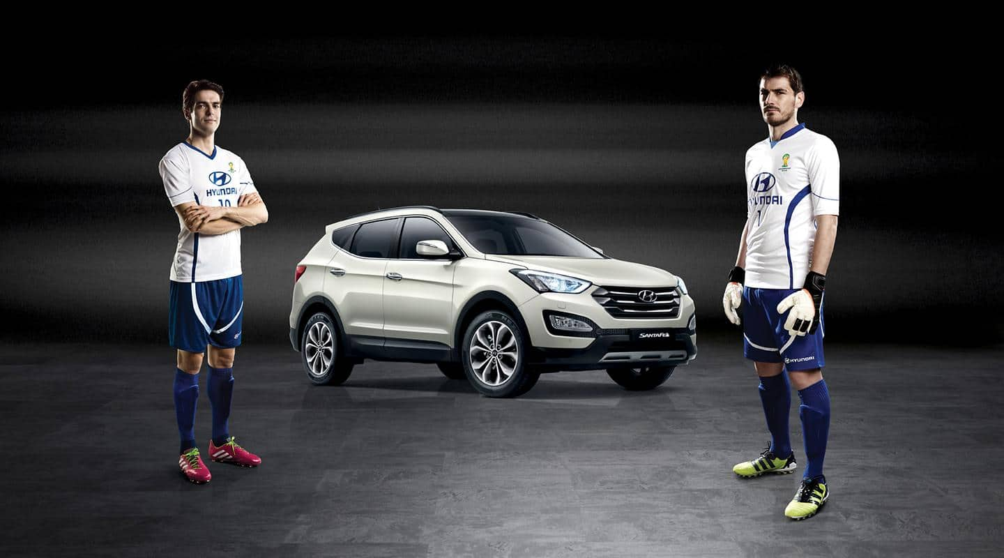 Hyundai Motor Announces Iker Casillas and Ricardo Kaka as Brand Ambassadors for 2014 FIFA World Cup Brazil ™
