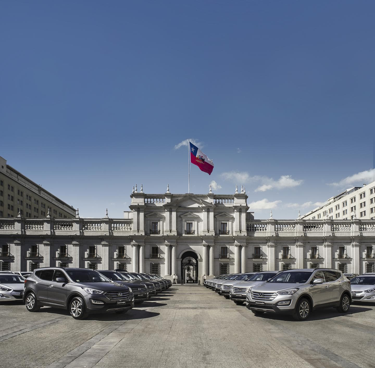 Hyundai Vehicles for Chilean Presidential Inauguration photo 2