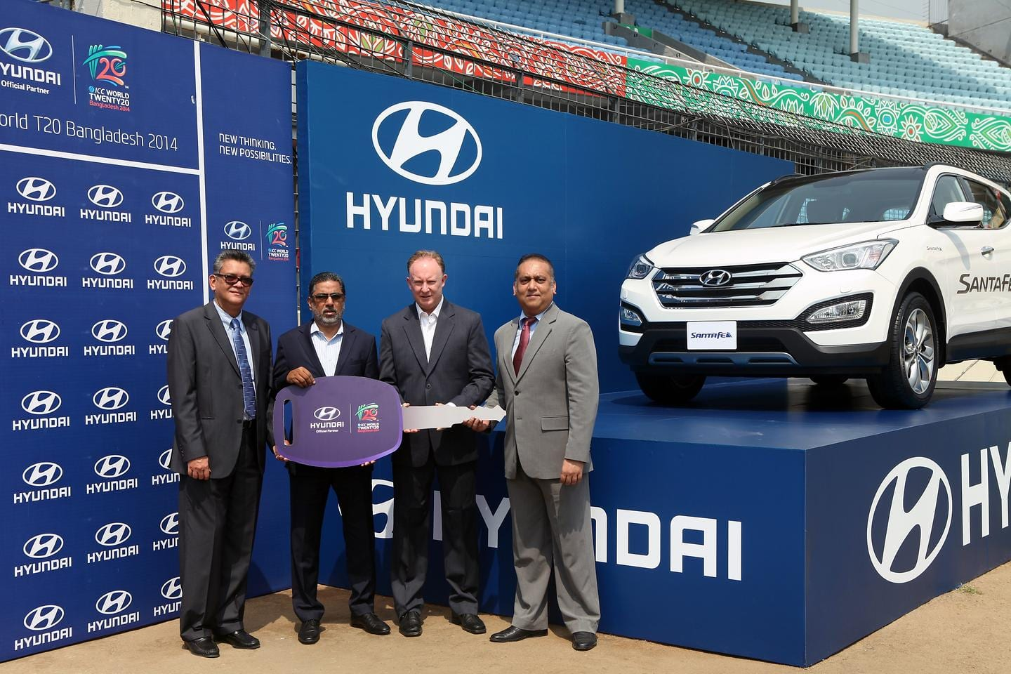 Hyundai Motor Company Takes Part in the ICC World T20 Bangladesh 2014