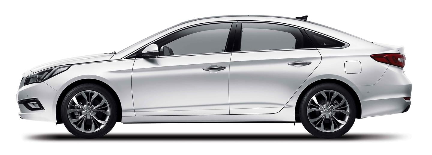 All New Sonata side view