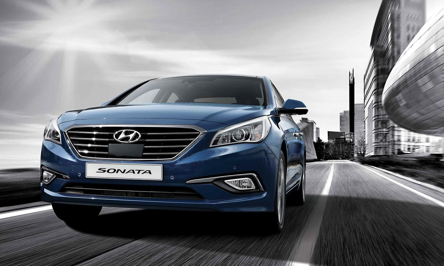 All New Sonata in motion
